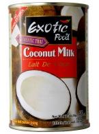 Kokosové mléko Exotic Food 400ml