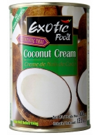 Kokosový krém /Coconut cream/ Exotic Food 400ml