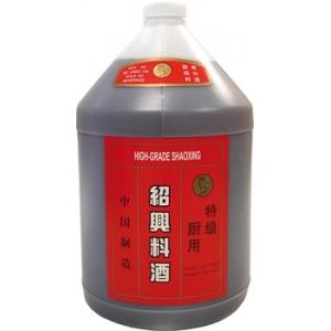 Rýžové víno na vaření 14 % Shao xing  4 x 3,875 l