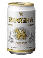 Thajské pivo Singha Beer 330ml v plechu -akční cena