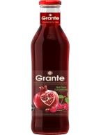 Granátová a třešňová šťáva Grante 100% 750ml