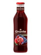 Granátová a hroznová šťáva Grante 100% 750ml