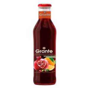 Granátová a pomerančová šťáva Grante 100% 750ml