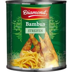 Bambusové výhonky nudličky 2,95kg Diamond