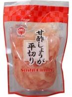 Krájený růžový zázvor na sushi Daruma 200g