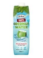 Kokosová voda 100%  GRACE 1 l
