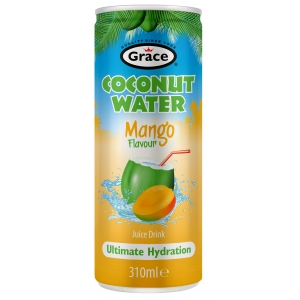 Kokosová voda s mangem Grace 310ml