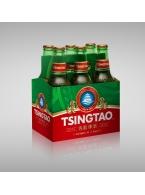Čínské pivo Tsingtao balení 6 x 330 ml