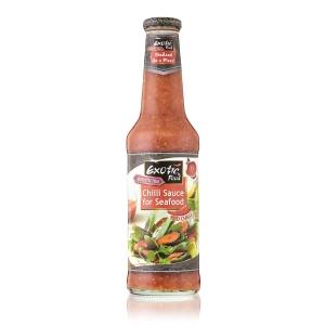 Pálivá chilli omáčka s česnekem na mořské plody Exotic Food  12 x 725 ml