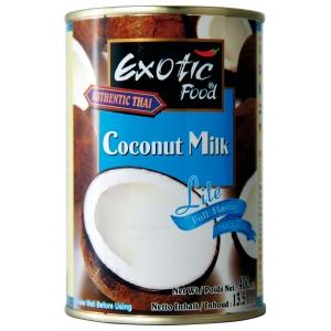Kokosové mléko LITE Exotic Food  12 x 400 ml