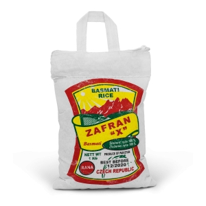 Rýže Basmati Zafran   10 x 1 kg