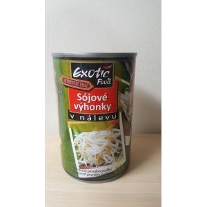 Sójové výhonky v nálevu Exotic Food  12 x 400 g