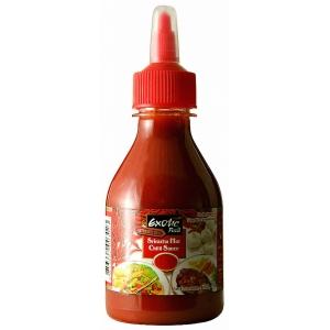 Sriracha ostře pálivá omáčka Exotic Food  12 x 200 ml