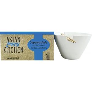 Polévková miska keramická s bambusovými hůlkami Jade Temple