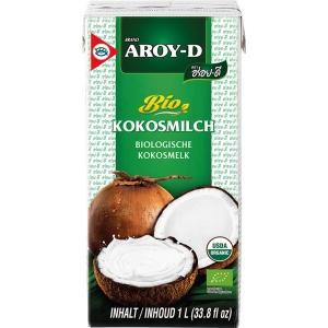 Kokosové mléko AROY-D 1000 ml  CZ-BIO-003