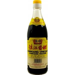 Rýžový ocet černý Hengshun  24 x 550 ml Čína