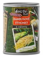 Bambusové výhonky nudličky Exotic Food 540 g