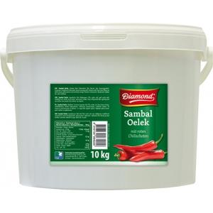 Sambal Oelek pasta z chilli papriček Diamond 10 kg