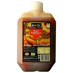Sladká chilli omáčka Exotic Food 5,15kg