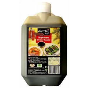 Ústřicová omáčka Exotic Food   3 x 5,15 kg