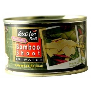 Bambusové výhonky plátky Exotic Food  24 x 227 g