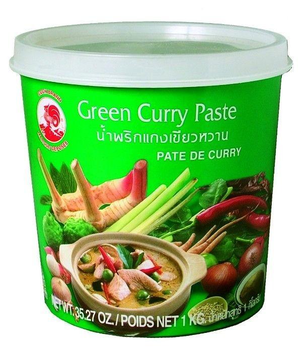 Zelená kari pasta Cock 1kg
