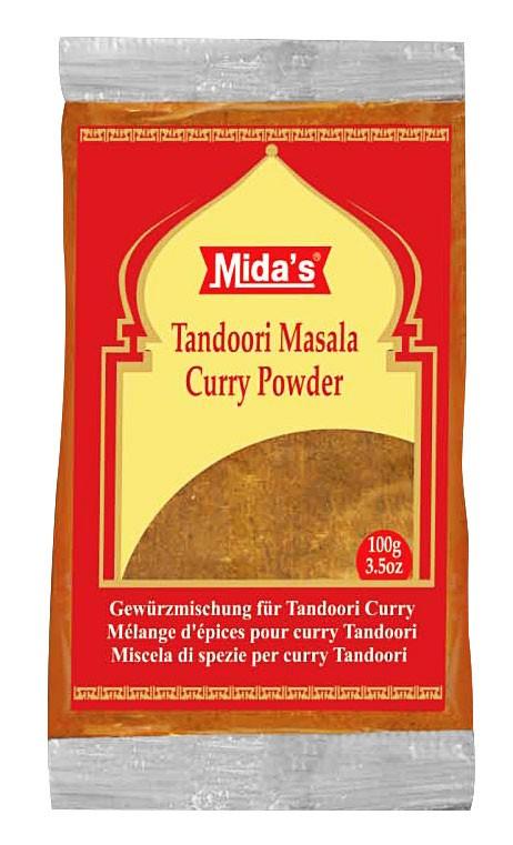 Tandoori masala ind.směs MIDA 100g