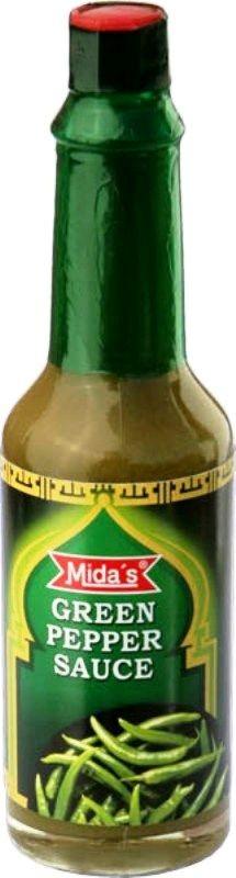 Ostrá chilli (zelená) omáčka Mida 70g