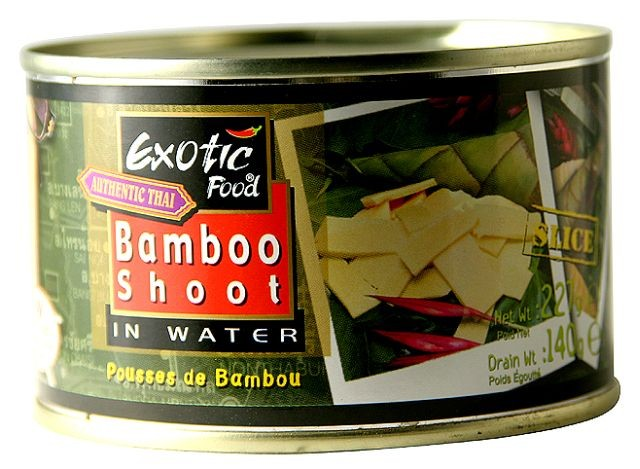 Exotic Food - bambusové výhonky plátky 227g
